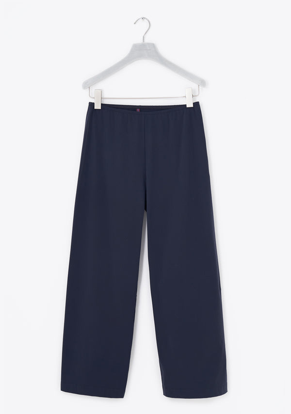 Stretch Pants wide, siebenachtel, Sommerpure, night