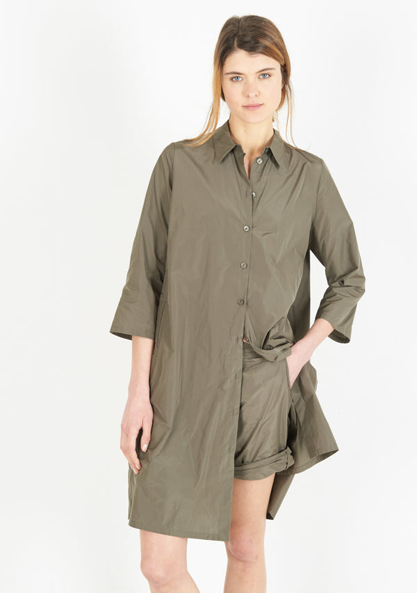 Shirtdress, half sleeve, fango