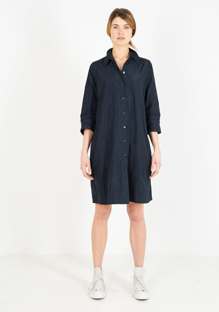 Shirtdress, half sleeve, night