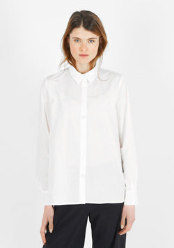 Plain Blouse, white