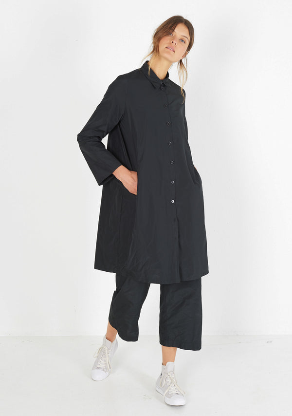 Shirtdress, black