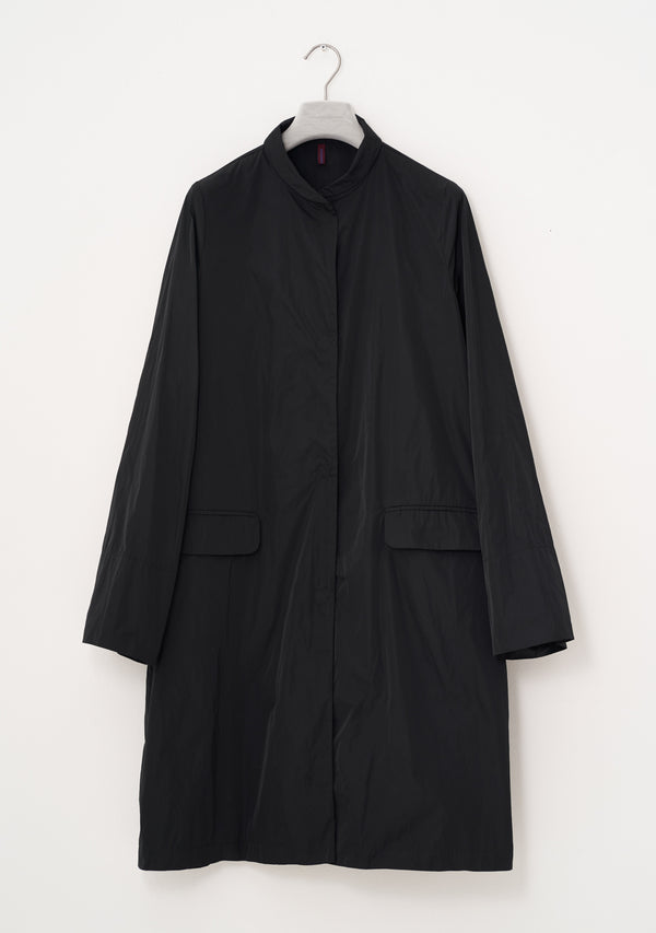 PLAIN Coat, heavy Taffeta, black