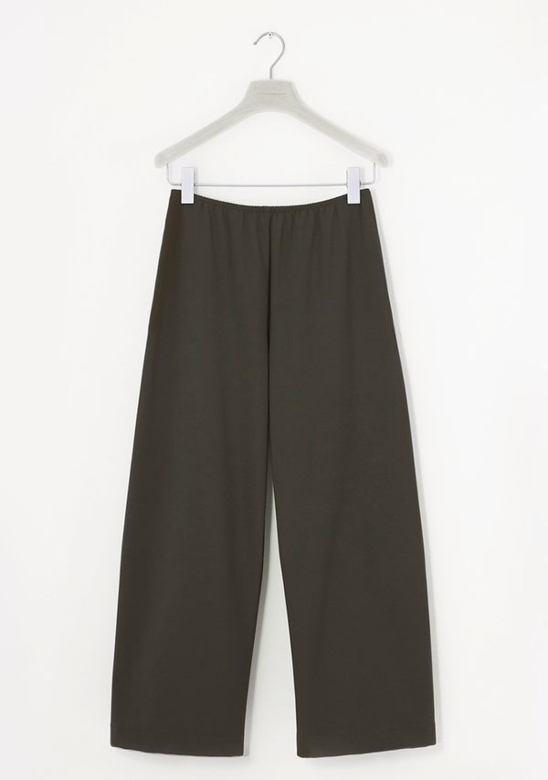 Stretch Pants wide, siebenachtel, umbra