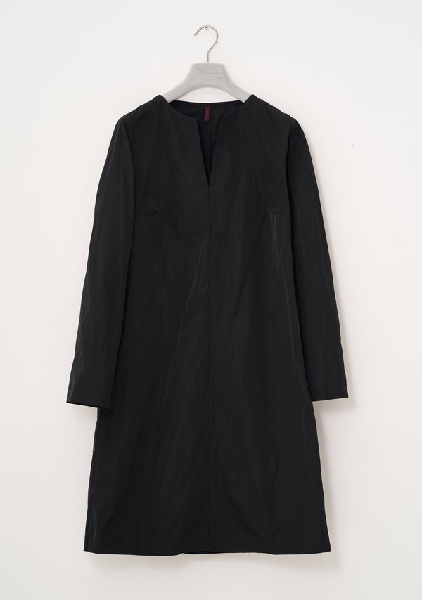 Simple Dress, heavy Taffeta, black