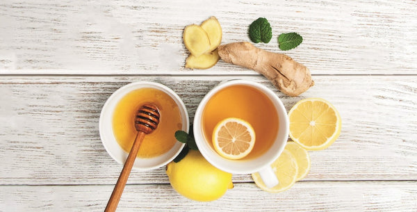 Refresh & Relax. Manuka Honey, Lemon & Ginger Drink