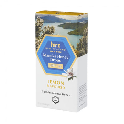 UMF 5+ Manuka Honey Drops with Lemon
