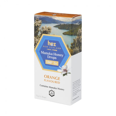 UMF 5+ Manuka Honey Drops with Orange