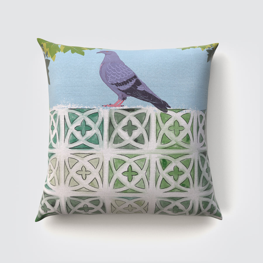 Concrete Jungle [Day] Cushion