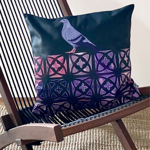 Concrete Jungle [Night] Cushion