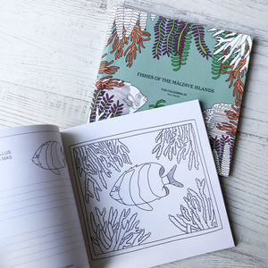 Vonadhona | Fishes of the Maldive Islands Colouring Book