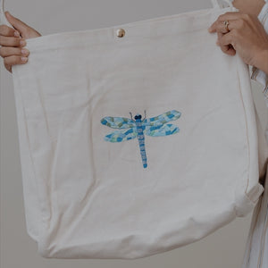Embroidered Large Totes - By Rau