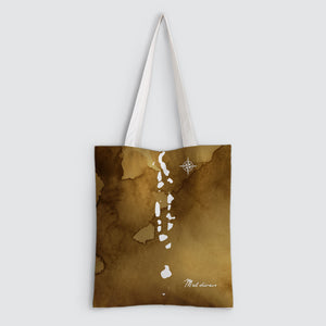 Maldives Map Tote