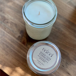 Clove, Orange, & Cedarleaf Soy Candle