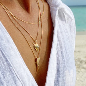 Whale shark [Gold] Necklace