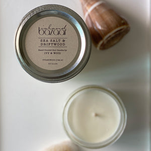 Sea Salt & Driftwood Soy Candle