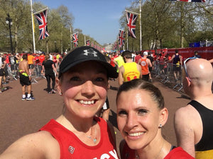 Why I ran a marathon on no training, 5 months after having a baby….