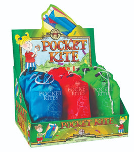 Colourful pocket kite