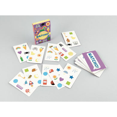 Set of Matcho cards. The matching card game