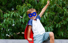 Superhero cape and mask