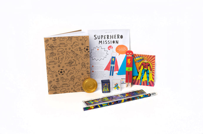 Not another birthday superhero bundle