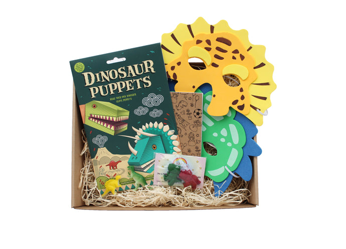 Not Another Birthday Dinosaur gift box for children