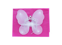 Fairy Princess wings and wand fancy dress