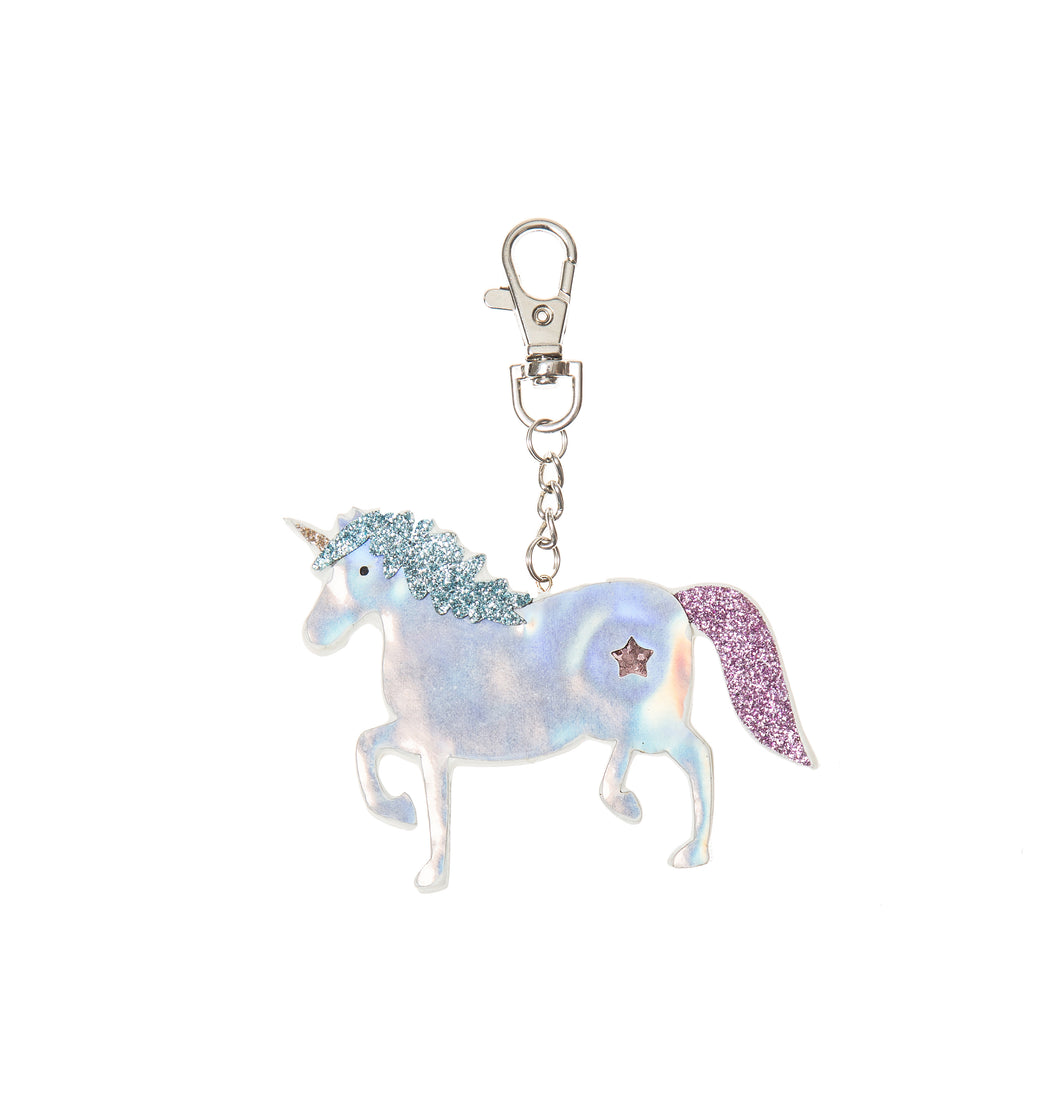 Unicorn bag charm