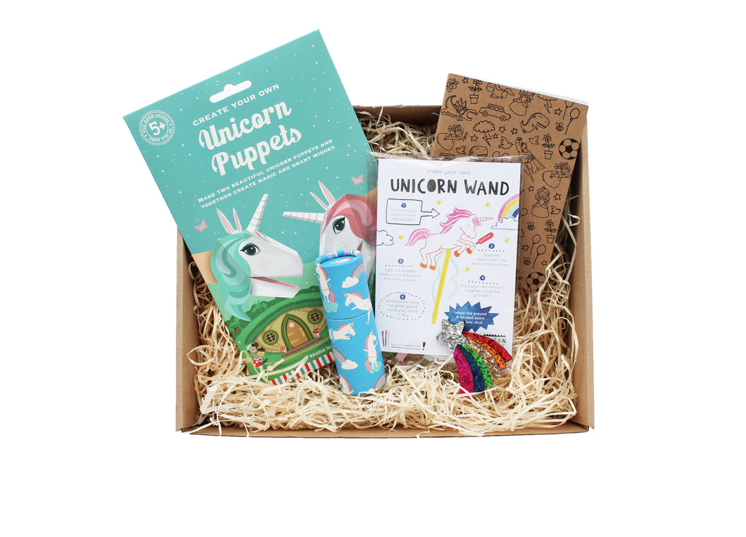 Not Another Birthday Unicorn themed gift box for children