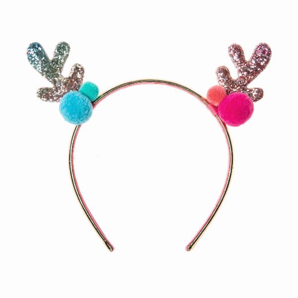 Reindeer rainbow headband