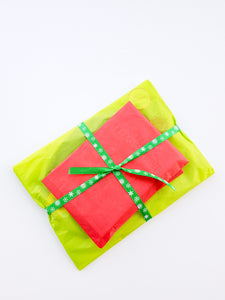 elf wrapped bundle