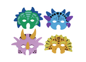 Dinosaur masks for Not Another Birthday gift bundle