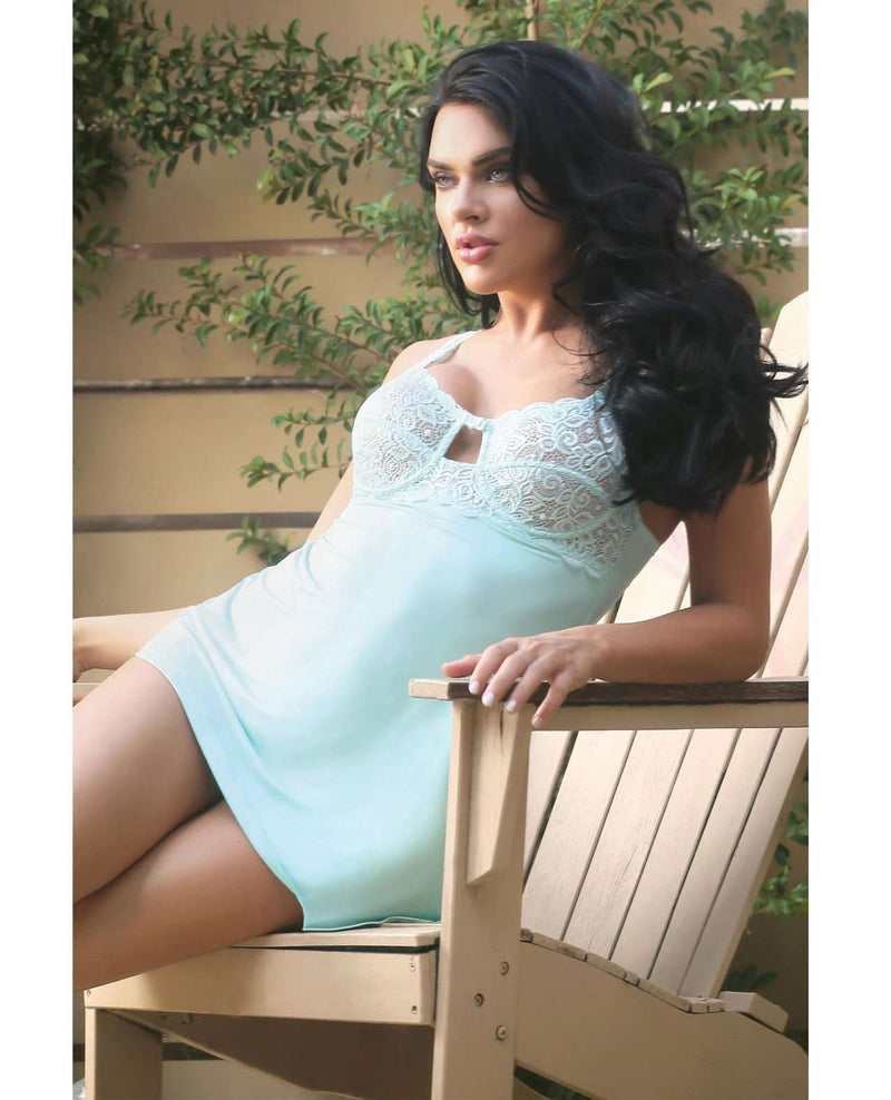 Sweet Pea Chemise Set - PlayDivas.com