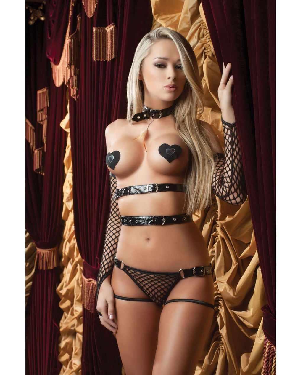 X Rated Vinyl Teddy Set - PlayDivas.com