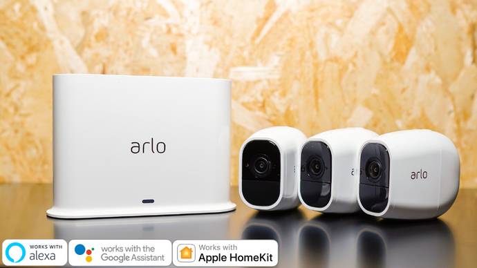 【Special Offer】Arlo Pro 2 - Wireless Camera System with Siren ( 3-Cam Kit Set ) - anlander.com | English