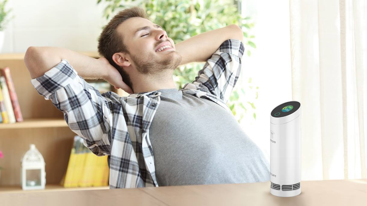Omcare - Portable Intelligent Air Cleaner with Digital Display - anlander.com | English