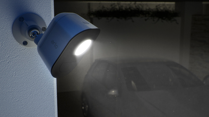 Arlo Outdoor Smart Home Security Light - anlander.com | English