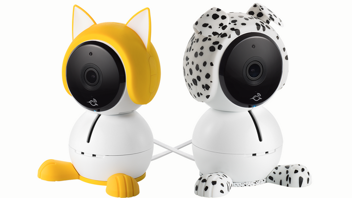 NETGEAR Arlo Baby Accessories - Yellow Kitten or Spotted Puppy Kit - anlander.com | English