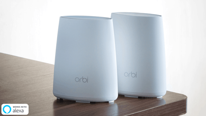 【Special Offer】NETGEAR Orbi Mini AC2200 Whole Home Mesh Wi-Fi System 2-Pack (RBK40) - anlander.com | English