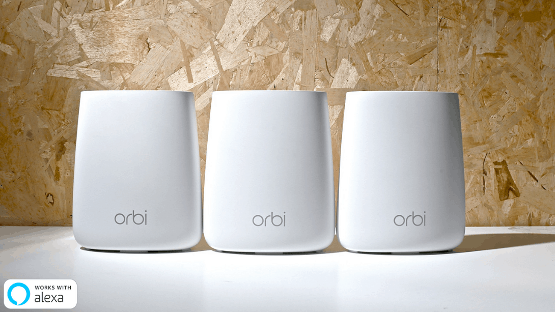 NETGEAR Orbi Micro AC2200 Whole Home Mesh Wi-Fi System 3-Pack (RBK23) - anlander.com | English