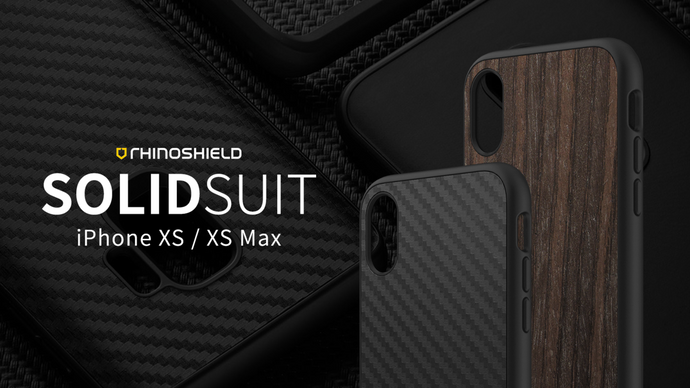 Rhino Shield SOLIDSUIT Premium Rugged Case - iPhone XS Max