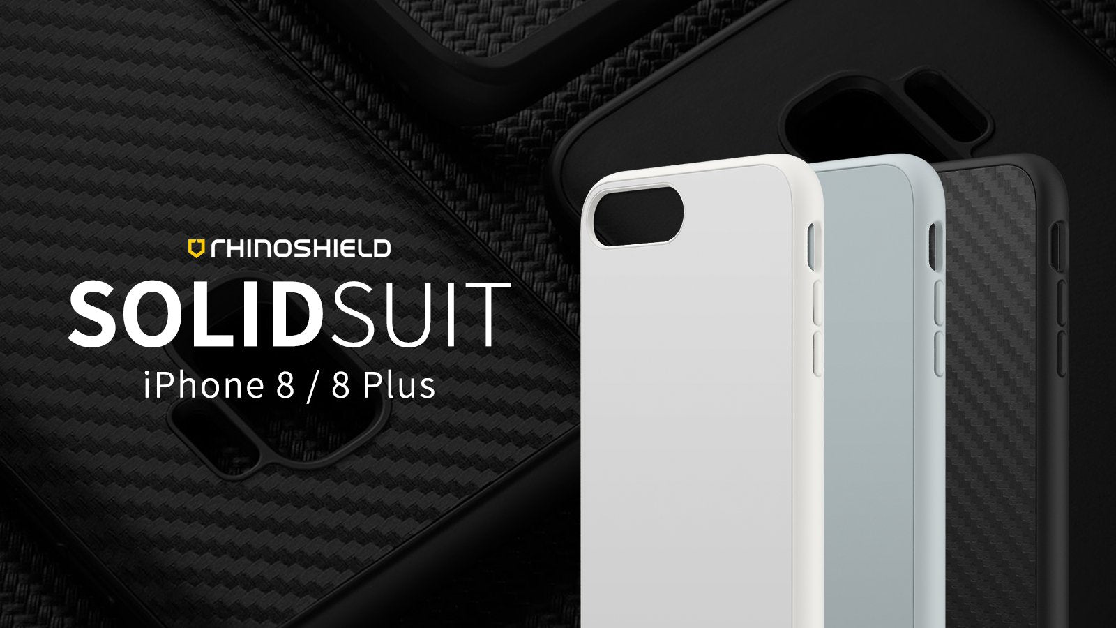 Rhino Shield SOLIDSUIT Premium Rugged Case - iPhone 8 Plus / 7 Plus