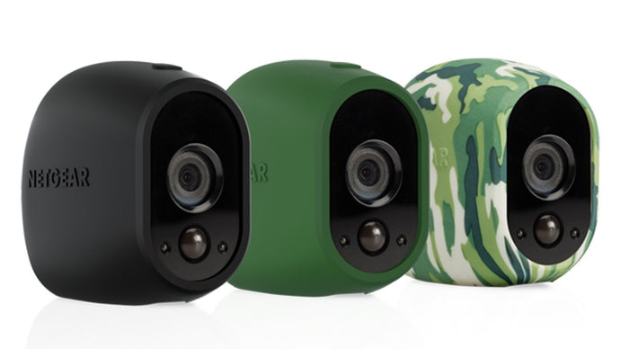 NETGEAR Arlo Accessories - Black, Green and Camouflage Silicone Case (VMA1200) - anlander.com | English