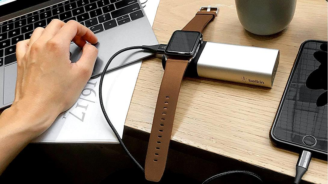Valet Charger™ Power Pack 6700 mAh for Apple Watch + iPhone - anlander.com | English