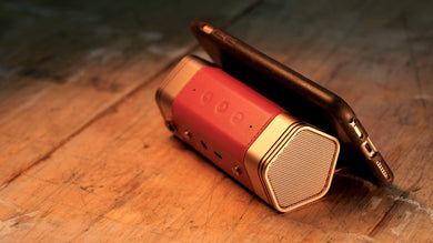 Leatherweight- Light Weight, Leather Covered Speaker - anlander.com | English