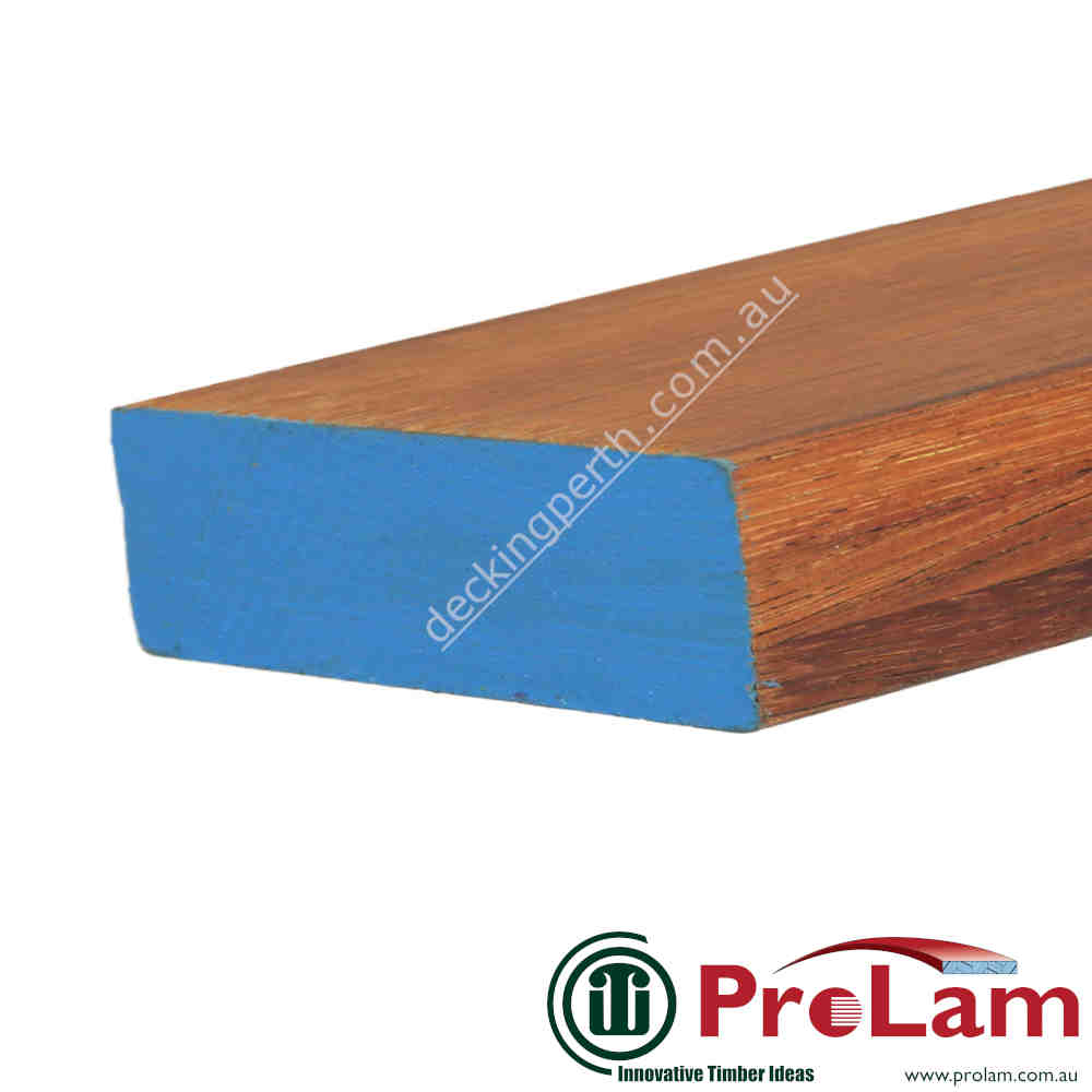 PROLAM BEAM 140mm x 42mm GL17 Laminated Merbau