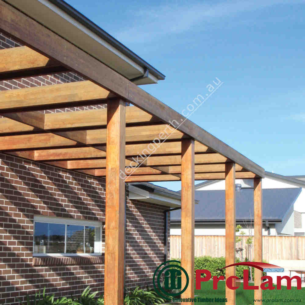 ProLam Beam and Post Laminated structural Merbau