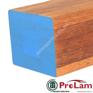 PROLAM POST 120mm x 120mm GL13 Laminated Merbau