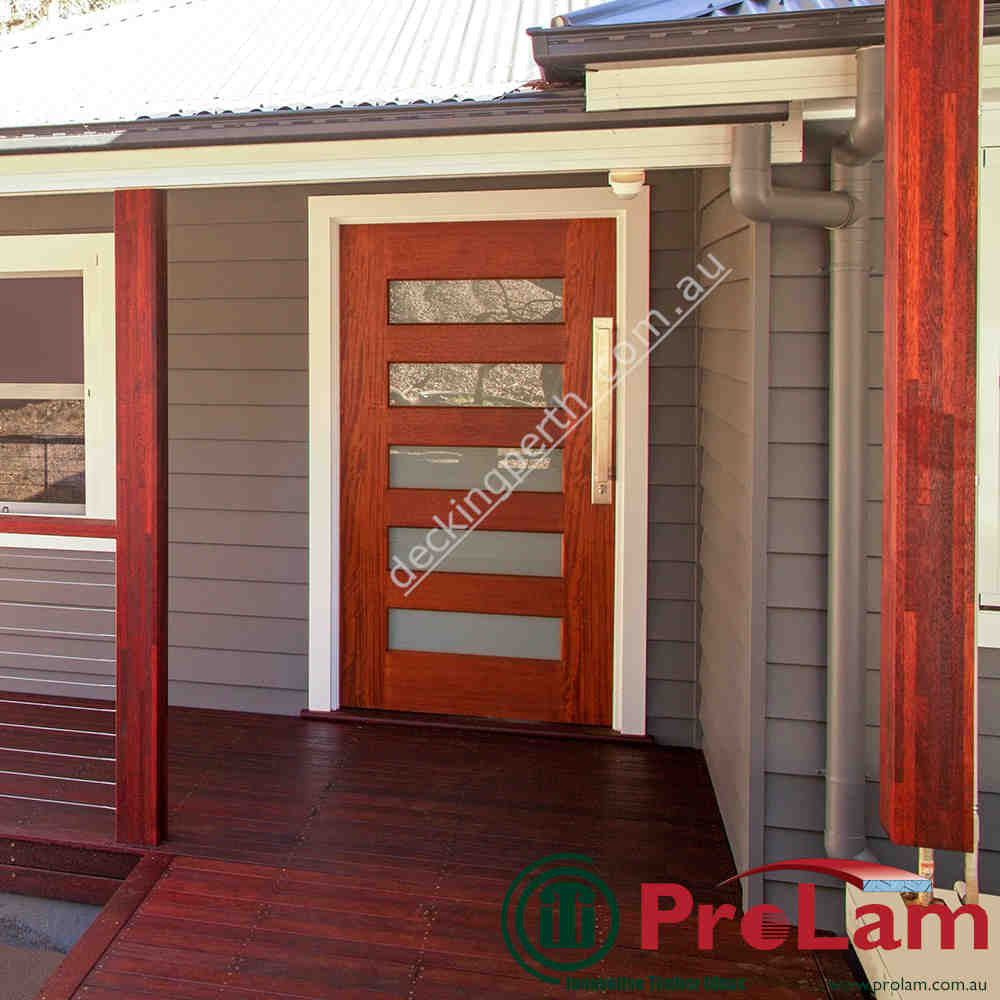 ProLam Post Laminated structural Merbau