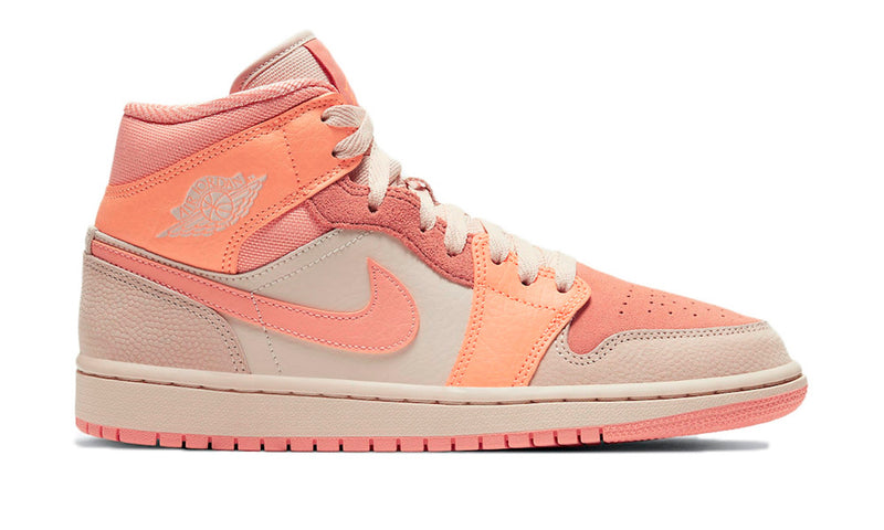 "Air Jordan 1 Mid ""Apricot Orange"""
