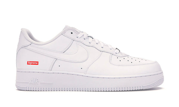 "Air Force 1 x Supreme ""White Box Logo"""